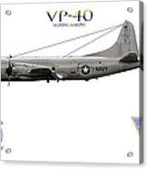Vp-40 Fighting Marlins Acrylic Print