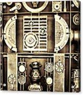 Vulcan Steel  Steampunk Metalworks Acrylic Print