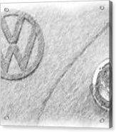 VW Acrylic Print