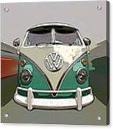 Vw Bus Art Acrylic Print