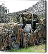 Vw Iltis Of The Special Forces Group Acrylic Print