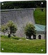 Wachusett Dam Panoramic Acrylic Print