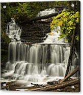 Wagner Falls 3 Acrylic Print