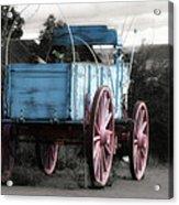 Wagon Ho Acrylic Print