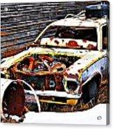 Wagon Of Rust Acrylic Print