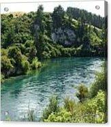 Waikato River Acrylic Print