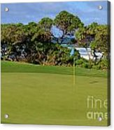 Wailua Golf Course - Hole 17 - 3 Acrylic Print