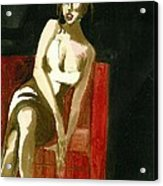 Waiting For Mr Right  3d Acrylic Print