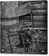 Waiting For Rain Acrylic Print