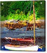 Waiting To Sail Acrylic Print