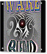 Wake Blend Product Design Acrylic Print