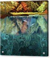 Walden Pond II Acrylic Print