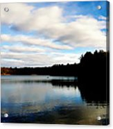 Walden Pond Reverie  Acrylic Print by Frank Winters