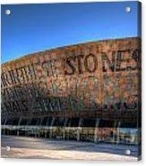 Wales Millenium Centre 3 Acrylic Print