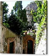 Walking Along The Amalfi Coast  5 Acrylic Print