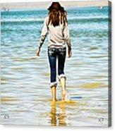 Walking Away 1 Acrylic Print