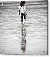 Walking Away 3 Acrylic Print