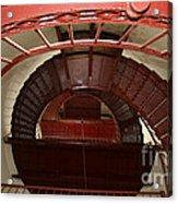 Piedras Blancas Lighthouse Staircase Acrylic Print