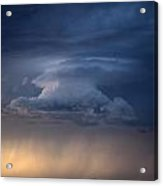 Wall Cloud Convecting Acrylic Print