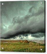 Wall Cloud Acrylic Print by Thomas Zimmerman