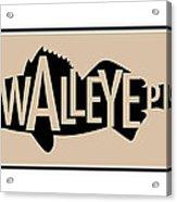 Walleye Pike Acrylic Print by Geoff Strehlow