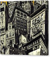 Walls And Towers Acrylic Print