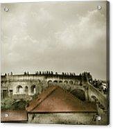 Walls Of Dubrovnik Acrylic Print