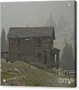 Walsh-duncan House In Storm Acrylic Print