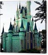 Walt Disney Castle Acrylic Print
