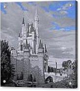Walt Disney World - Cinderella Castle Acrylic Print