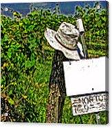 Walt's Hat Acrylic Print