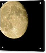 Waning Moon Acrylic Print