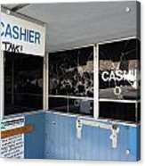 Wanted Cashier  Acrylic Print