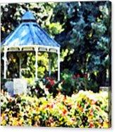War Memorial Rose Garden 2  Acrylic Print
