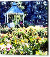 War Memorial Rose Garden  3 Acrylic Print