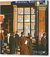 War News Christmas 1940 Acrylic Print by Padre Art