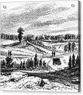 War Of 1812: Bladensburg Acrylic Print