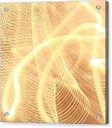 Warm Strings Of Glowing Light Acrylic Print