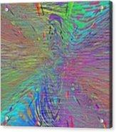 Warp Of The Rainbow Acrylic Print