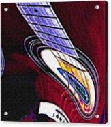 Warped Music Acrylic Print
