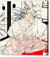 Warrior Kiyomori 1882 Acrylic Print