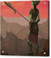 Warrior Princess Of Skorden Acrylic Print