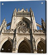 Washington National Cathedral Entrance Acrylic Print