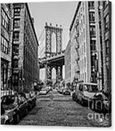 Washington Street Brooklyn Acrylic Print