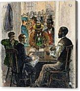 Washington: Voting, 1867 Acrylic Print