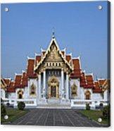 Wat Benchamabophit Ubosot Dthb279 Acrylic Print