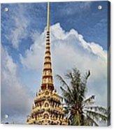 Wat Chalong 5 Acrylic Print