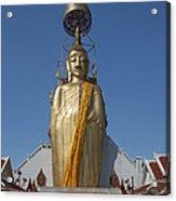 Wat Intarawiharn Phra Luang Phor Toh Standing Buddha Dthb294 Acrylic Print