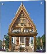Wat Kan Luang Ubosot Gate Dthu181 Acrylic Print