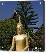 Wat Mai Buddha II Acrylic Print